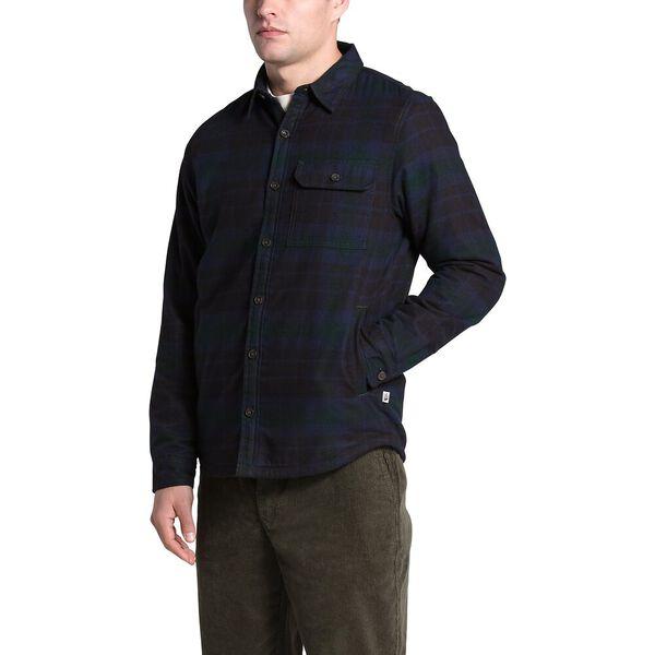 Men's Campshire Shirt, SCARAB GREEN HERITAGE MEDIUM THREE COLOR PLAID, hi-res