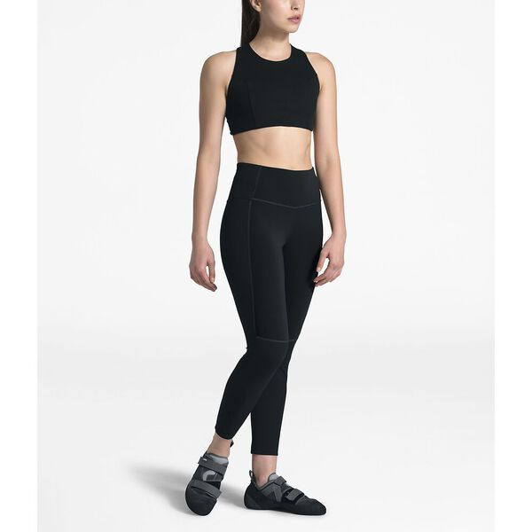 WOMEN'S BEYOND THE WALL HIGH-RISE 7/8 TIGHT, TNF BLACK, hi-res
