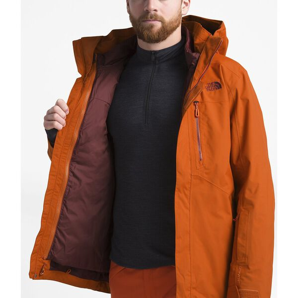 Men's Clement Triclimate® Jacket, PAPAYA ORANGE, hi-res