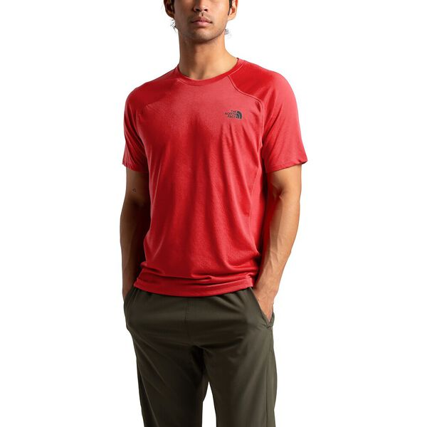 Men's Essential Short-Sleeve, POMPEIAN RED, hi-res