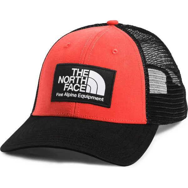 Mudder Trucker Hat, TNF BLACK/FLARE, hi-res