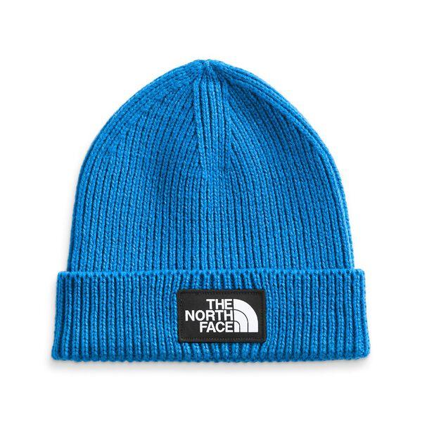 Youth TNF™ Box Logo Cuff Beanie, HERO BLUE, hi-res
