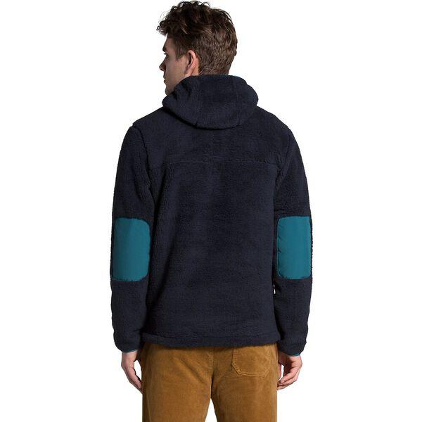 Men's Campshire Pullover Hoodie, AVIATOR NAVY/MALLARD BLUE, hi-res