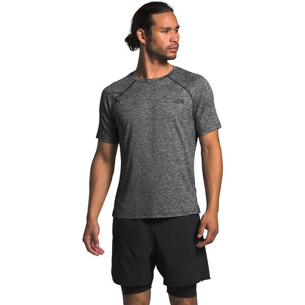 Men's HyperLayer Flashdry™ Short-Sleeve, TNF DARK GREY HEATHER, hi-res