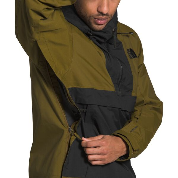 Men's Silvani Anorak, FIR GREEN/TNF BLACK, hi-res