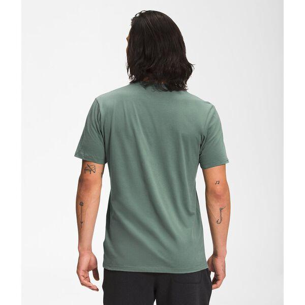 Men's Short-Sleeve Half Dome Tee, LAUREL WREATH GREEN, hi-res