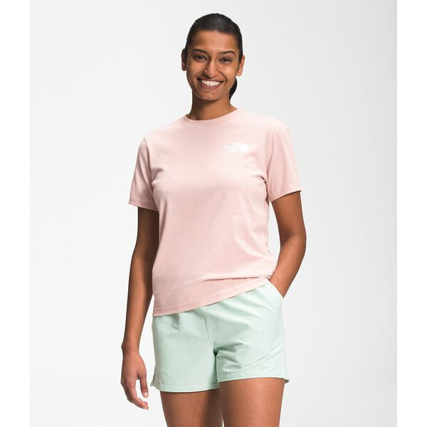 Women's Short-Sleeve Box NSE Tee, EVENING SAND PINK, hi-res