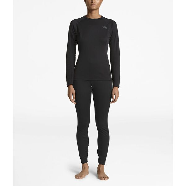 WOMEN'S WARM TIGHT, TNF BLACK/TNF BLACK, hi-res