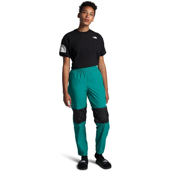 Women's Graphic Collection Tear-Away Pants, JAIDEN GREEN/TNF BLACK, hi-res