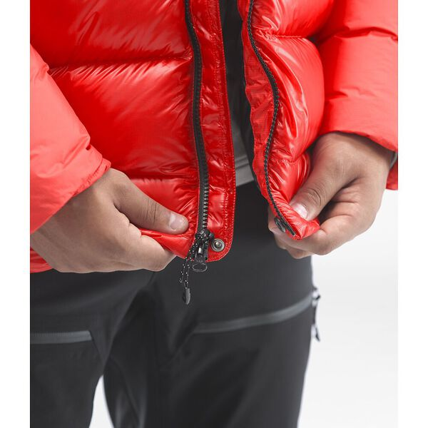 Men's Summit L6 Down Belay Parka, FIERY RED/FIERY RED, hi-res
