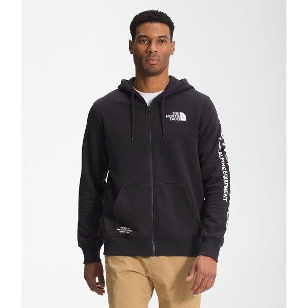 Men's Brand Proud Full Zip Hoodie, TNF BLACK, hi-res