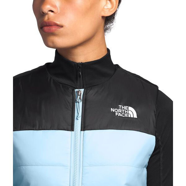 Women's Pardee Insulated Vest, ANGEL FALLS BLUE/TNF BLACK, hi-res