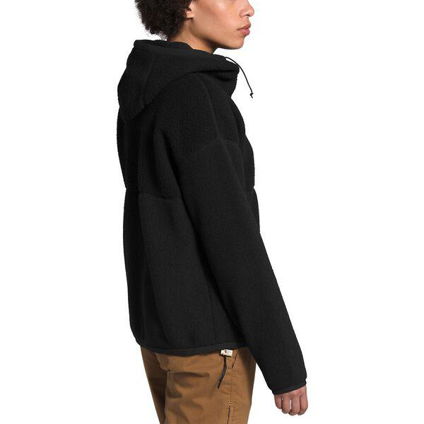 Women's Cragmont Fleece Full Zip Hoodie, TNF BLACK, hi-res