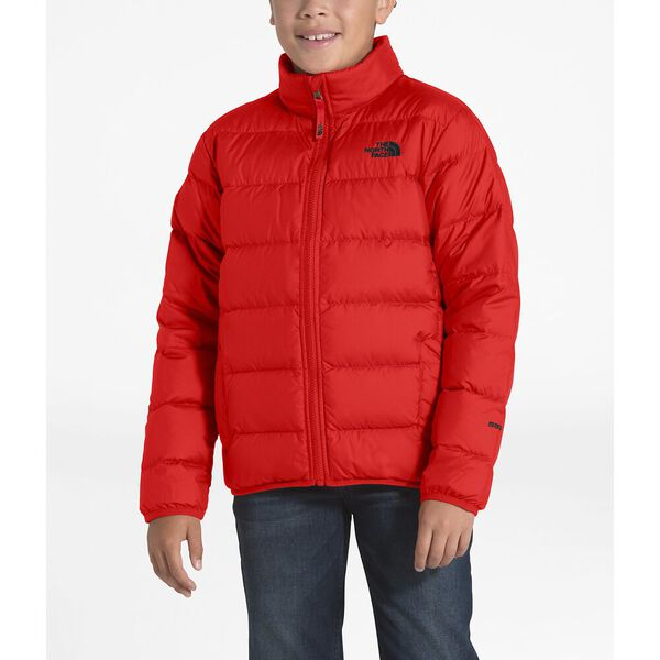 Boys' Andes Jacket, FIERY RED/TNF BLACK, hi-res