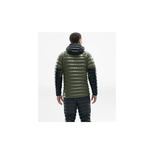 MEN'S L3 DOWN HOODIE, NEW TAUPE GREEN/TNF BLACK, hi-res