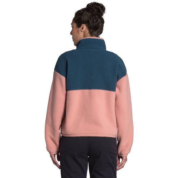 Women's Cragmont Fleece ¼ Snap, BLUE WING TEAL/PINK CLAY, hi-res