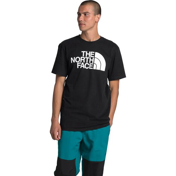 Men's Short-Sleeve Half Dome Tee, TNF BLACK, hi-res