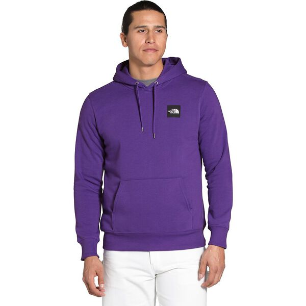 Men's 2.0 Box Pullover Hoodie, PEAK PURPLE/TNF BLACK, hi-res