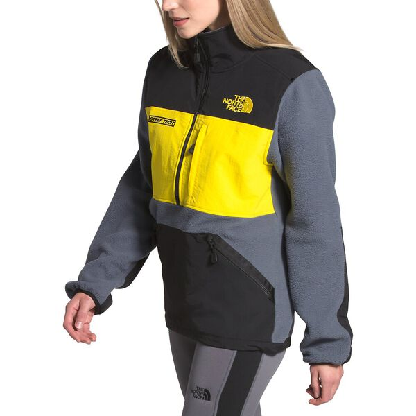 Steep Tech™ Half Zip Fleece, VANADIS GREY/TNF BLACK/LIGHTNING YELLOW, hi-res