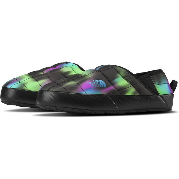 Women's Thermoball™ Traction Mule V, NORTHERN LIGHTS PRINT/TNF BLACK, hi-res