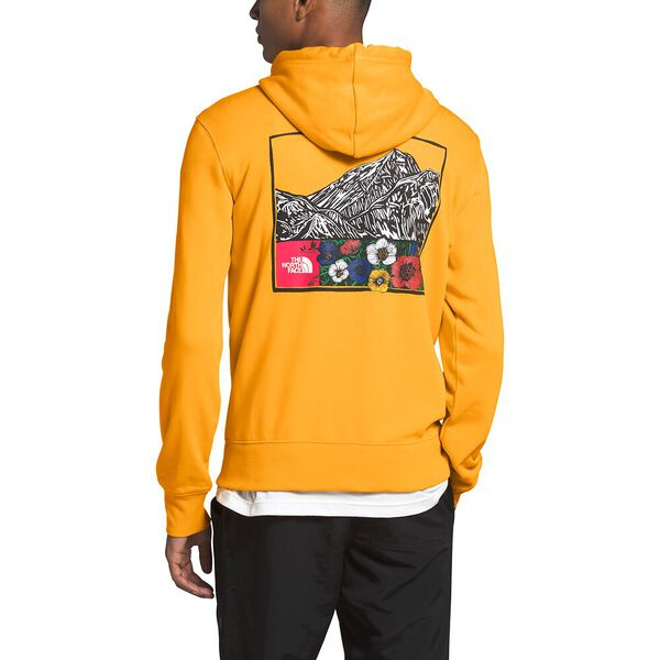 Men's Himalayan Source Pullover Hoodie, TNF YELLOW, hi-res