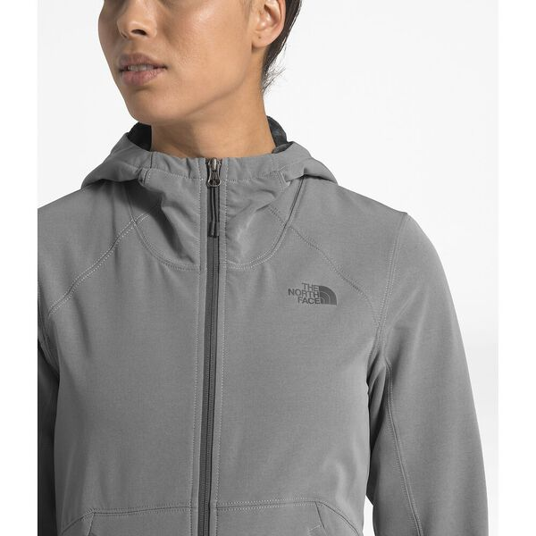 Women's Shelbe Raschel Hoodie, TNF MEDIUM GREY HEATHER, hi-res