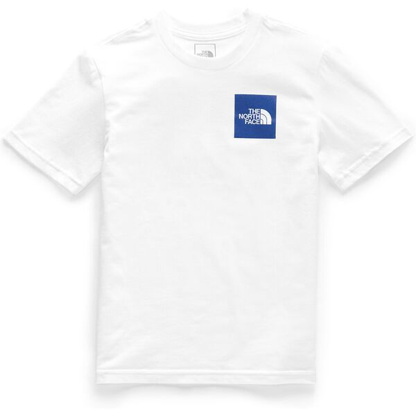 BOYS' SHORT-SLEEVE GRAPHIC TEE, TNF WHITE, hi-res
