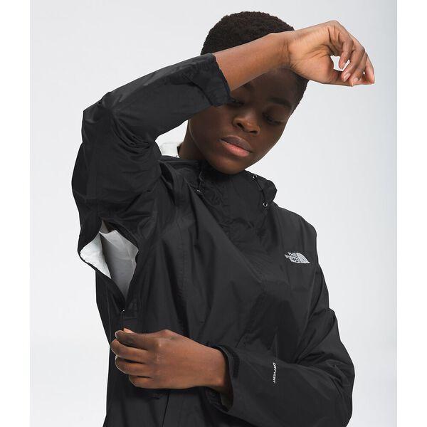 Women's Venture 2 Jacket, TNF BLACK/TNF BLACK, hi-res