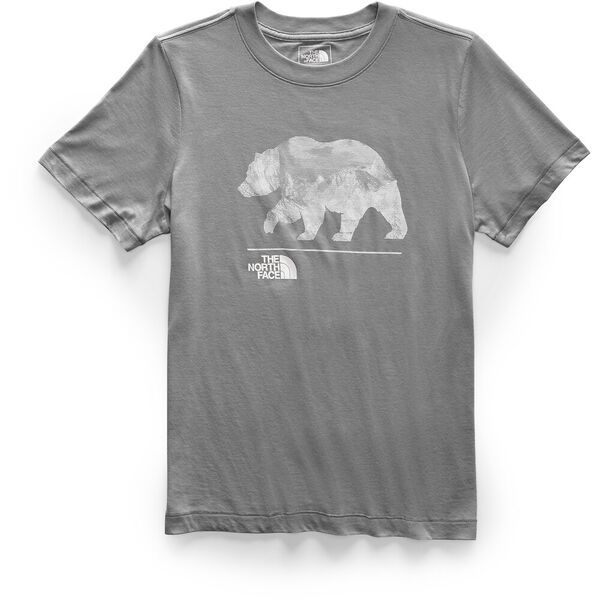 Women's Short-Sleeve Bearinda Tri-Blend Tee, TNF MEDIUM GREY HEATHER, hi-res