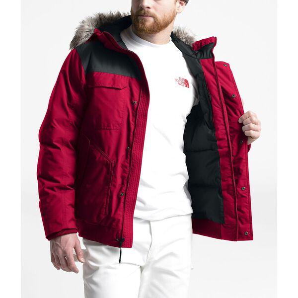 Men's Gotham Jacket III, TNF RED/TNF BLACK/TNF BLACK, hi-res
