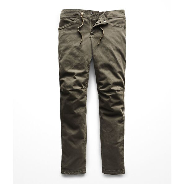 WOMEN'S NORTH DOME PANT, NEW TAUPE GREEN, hi-res