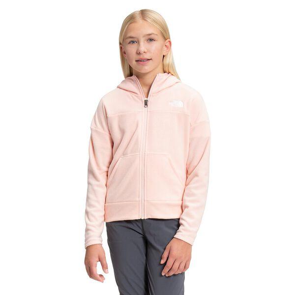 Girls' TKA Glacier Fleece Full Zip Hoodie
