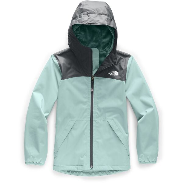 Girls' Warm Storm Jacket, WINDMILL BLUE, hi-res