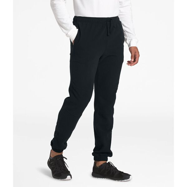 Men's TKA Glacier Fleece Pants, TNF BLACK/TNF BLACK, hi-res