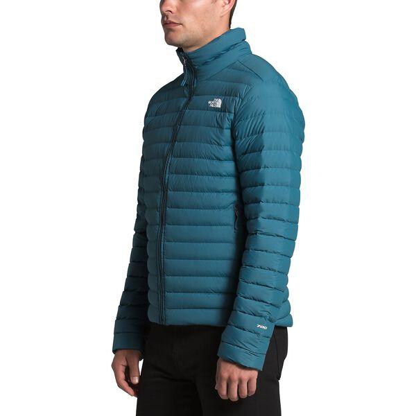 Men's Stretch Down Jacket, MALLARD BLUE, hi-res