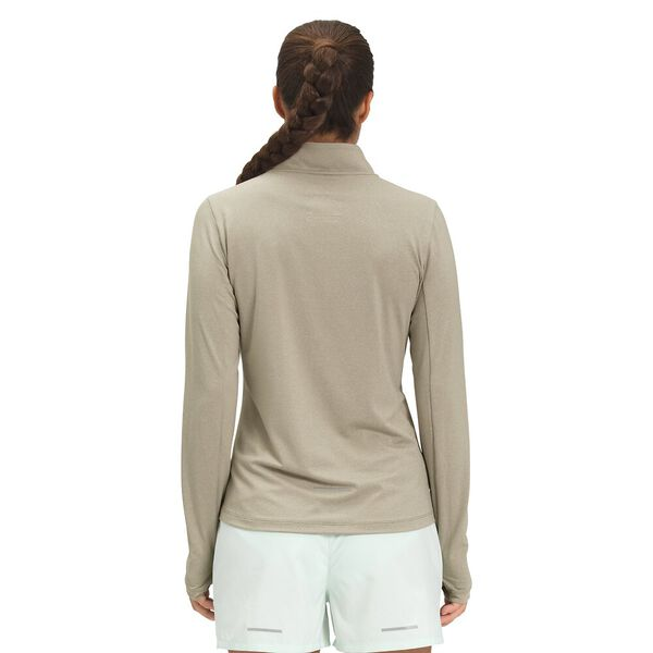 Women's Riseway ½ Zip Top, MINERAL GREY HEATHER, hi-res