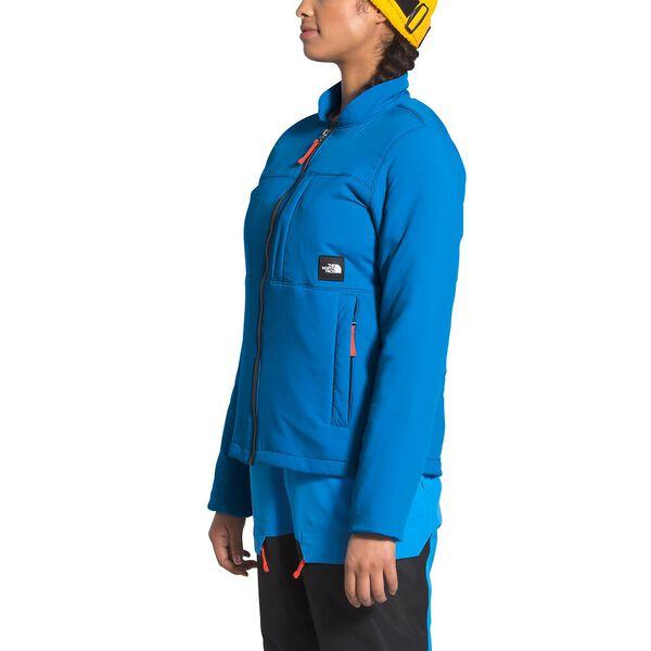 Women's Team Kit Midlayer, CLEAR LAKE BLUE, hi-res