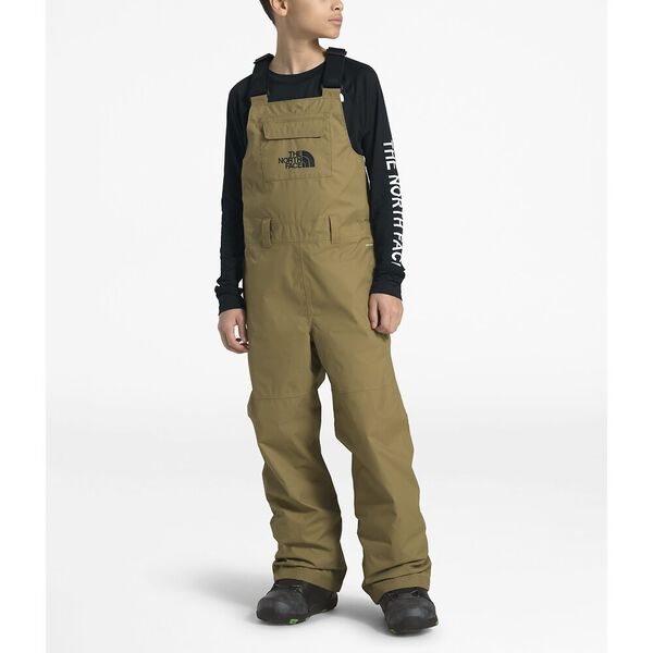 Youth Freedom Insulated Bib, BRITISH KHAKI, hi-res
