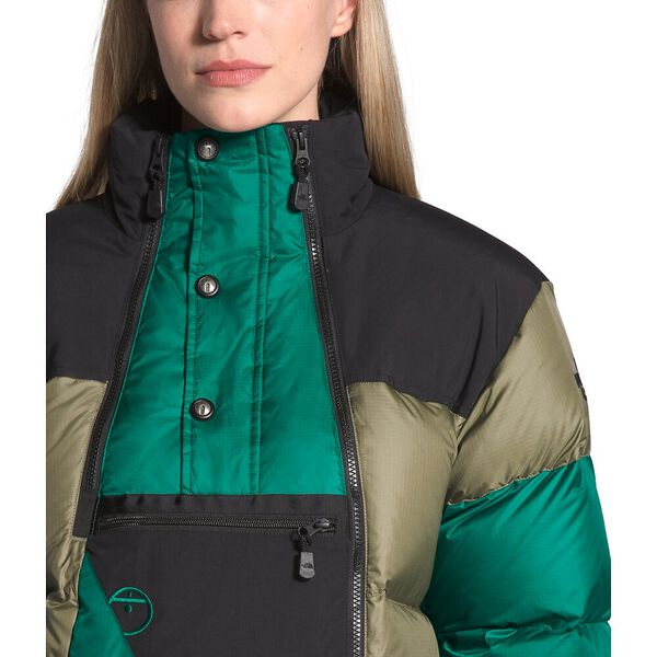Steep Tech™ Down Jacket, BURNT OLIVE GREEN/EVERGREEN/TNF BLACK, hi-res