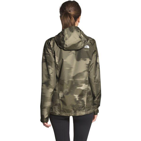 Women's Venture 2 Jacket, NEW TAUPE GREEN VAPOR IKAT PRINT, hi-res