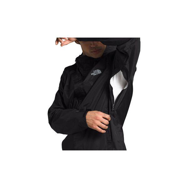 Men's Venture 2 Jacket, TNF BLACK-TNF BLACK-MID GREY, hi-res