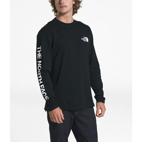 Men's Long-Sleeve Logo 7SE Tee, TNF BLACK, hi-res