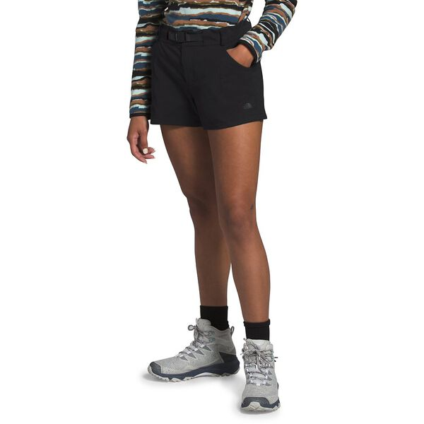 Women's Paramount Active Shorts, TNF BLACK, hi-res
