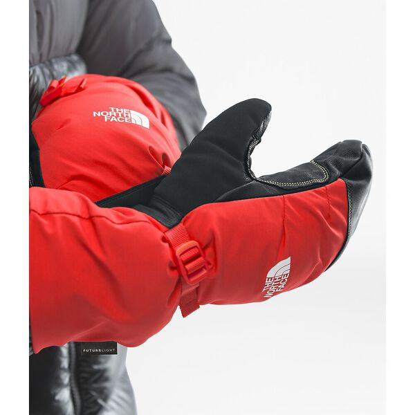 SUMMIT BELAY MITT, FIERY RED, hi-res