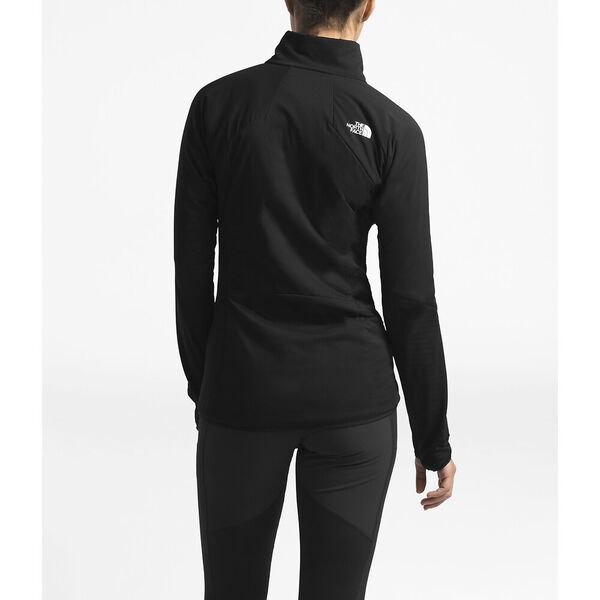 WOMEN'S VENTRIX LT FLEECE HYBRID JACKET, TNF BLACK/TNF BLACK, hi-res