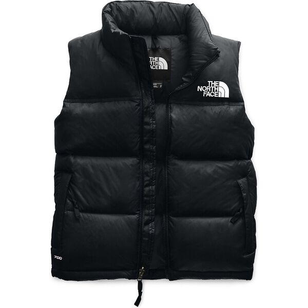 WOMEN'S 1996 RETRO NUPTSE DOWN VEST, TNF BLACK, hi-res