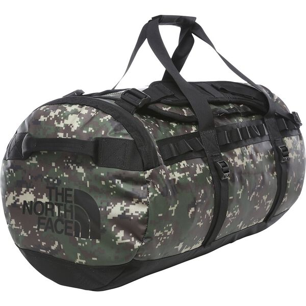Base Camp Duffel - M, BURNT OLIVE GREEN DIGI CAMO/TNF BLACK, hi-res
