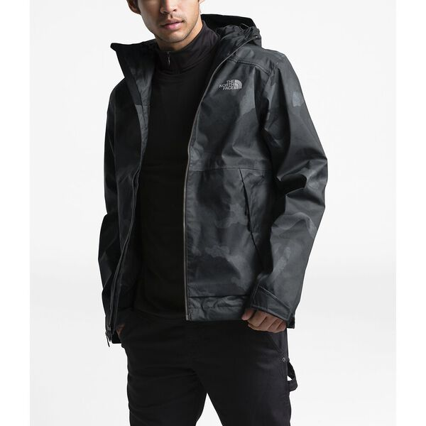 Men's Millerton Jacket, TNF BLACK WAXED CAMO PRINT, hi-res