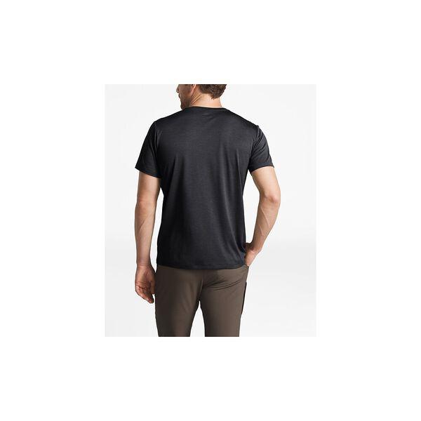 Men's HyperLayer Flashdry™ Short-Sleeve Crew, TNF DARK GREY HEATHER, hi-res