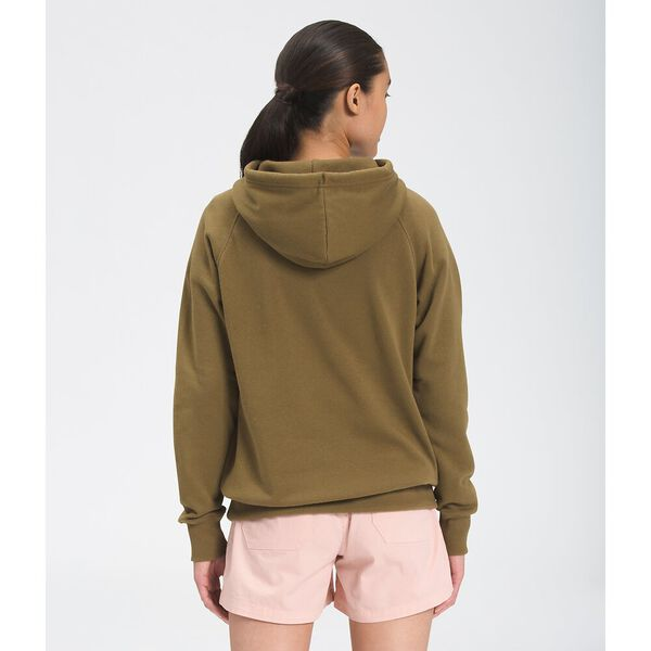 Women's Half Dome Pullover Hoodie, MILITARY OLIVE, hi-res
